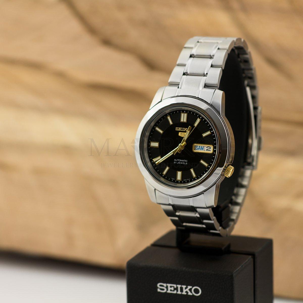 Seiko elegancki zegarek na prezent
